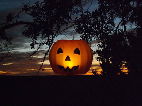 The Hanging Pumpkin by Rebecca Cearley