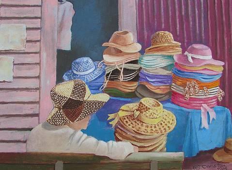 The Hat Buyer by Tony Caviston