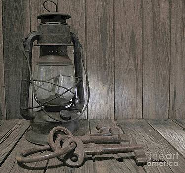 The Hermits Keys and Lamp by Dodie Ulery