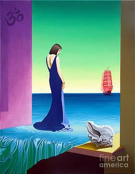 The High mode and scarlet sail by Vasiliy Zherebilo