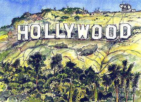 The Hollywood Sign by Terry Banderas