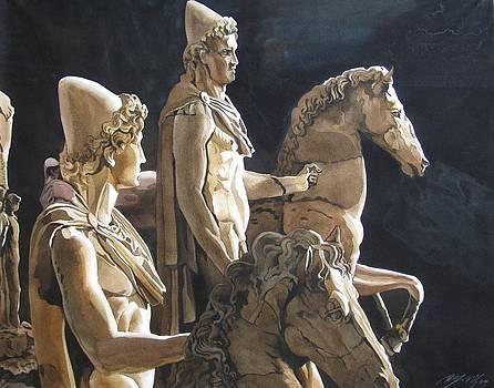 Alfred Ng - the horsemen