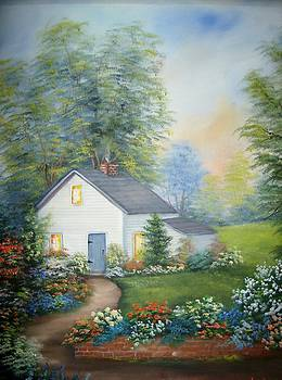 The House at the end of the Road by Debra Campbell