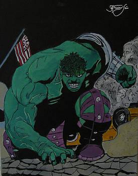 The Hulk by Apoorv Jain