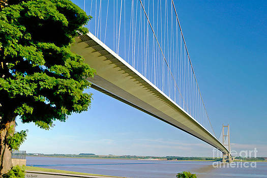 The Humber Bridge by Tess Baxter