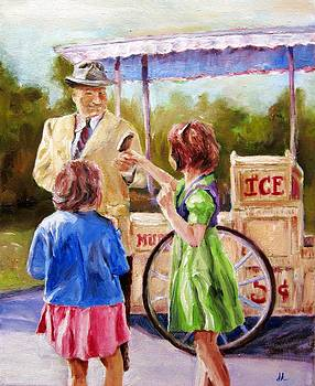 The Ice Cream by Diane Kraudelt