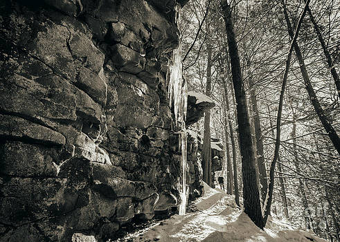 The Icy Ledges by Aaron Campbell