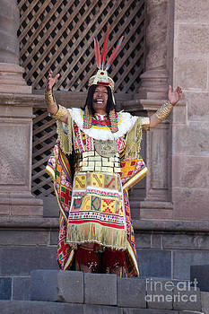 James Brunker - The Inca at Inti Raymi
