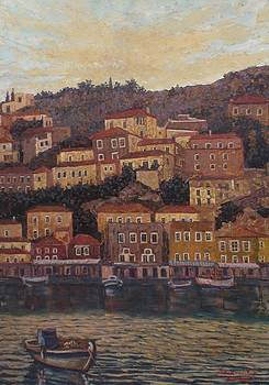 The island of Hydra by Charalampos Laskaris