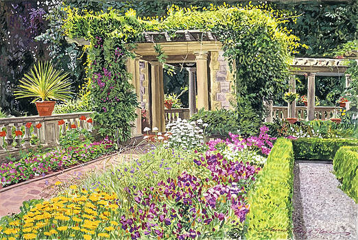 David Lloyd Glover - The Italian Gardens Hatley Park