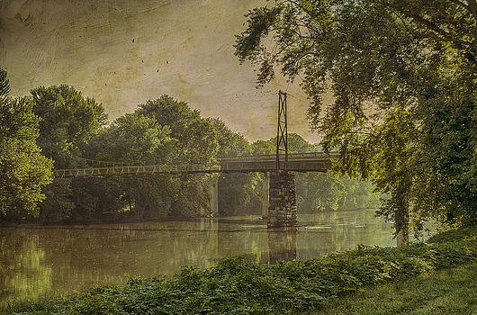 The James River by Kathy Jennings
