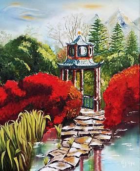 The Japanese Garden by Liza Ayach