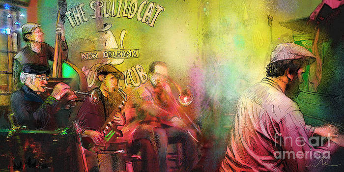 Miki De Goodaboom - The Jazz Vipers in New Orleans 03
