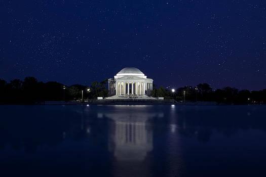 Regina  Williams  - The Jefferson Memorial