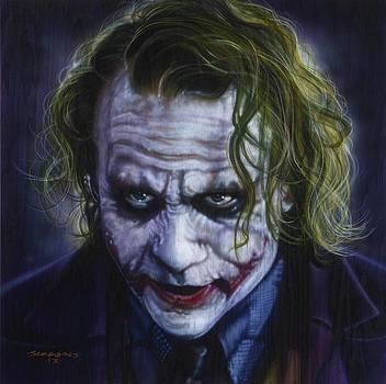 The Joker by Tim  Scoggins