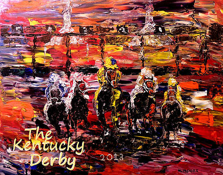 The Kentucky Derby - And They're Off  by Mark Moore