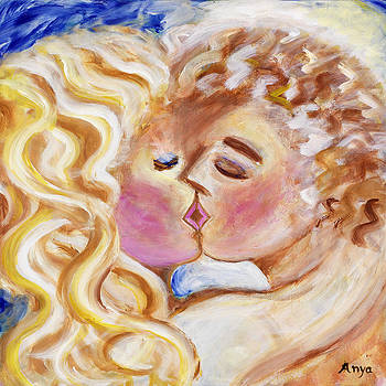 The Kiss by Anya Heller