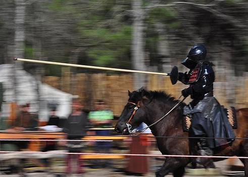 The Knight at Joust by Cherie Haines