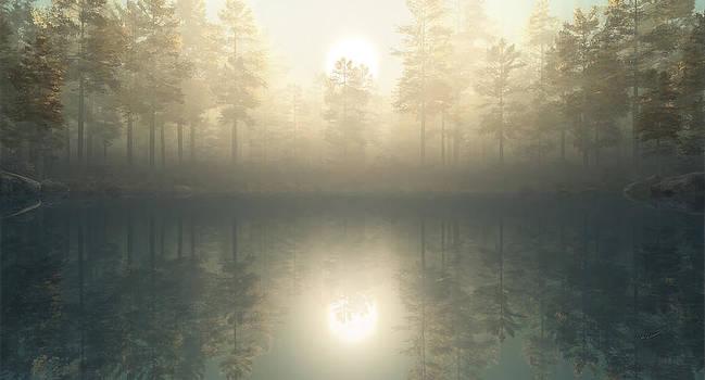 The Lake Awakes by John Robichaud