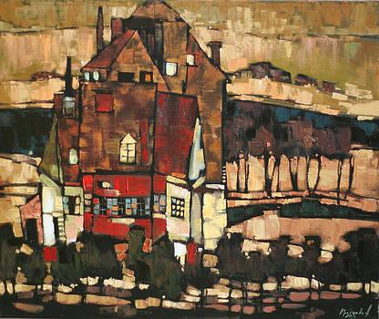 The lake house by Anastasija Kraineva
