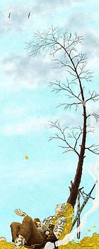 The Last Leaf by Dmitry Rezchikov