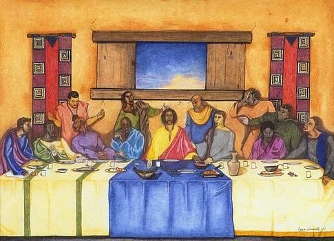 The Last Supper II by Lynn Darnelle