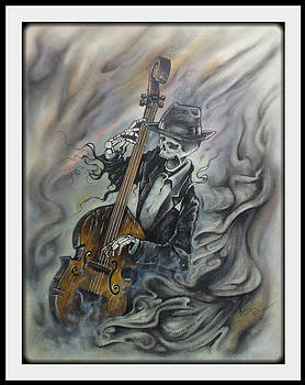 The Laughing Bass-man by Chris Mc Crossan