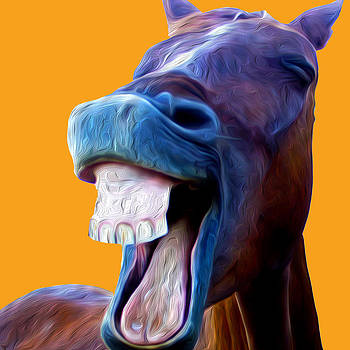 The laughing Horse by Peter Stevenson