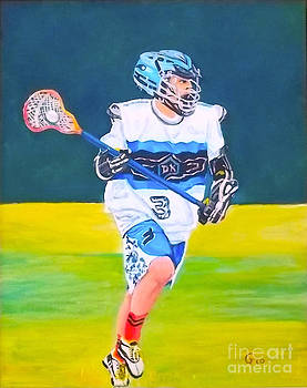 The Lax Man Attax by Frank Giordano