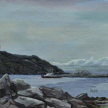 The Legacy - Monhegan Maine by J R Baldini IPAP