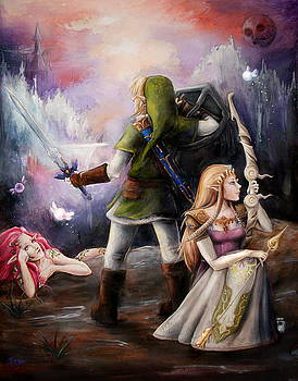 The Legend of Zelda by Brynn Elizabeth Hughes