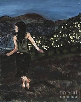 The Lemon Tree Field by Helena Bebirian