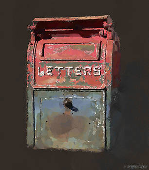 The Letter Box by J Morgan Massey