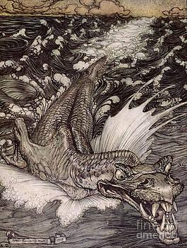 Arthur Rackham - The Leviathan