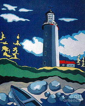 The Lighthhouse by Joyce Gebauer