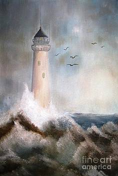The Lighthouse by AmaS Art