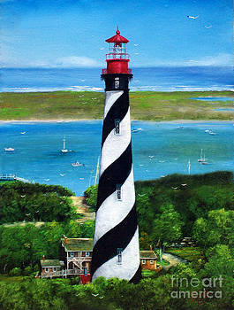 The Lighthouse by Earl Butch Curtis