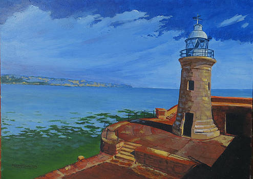The Lighthouse Folkestone by Maddy Swan