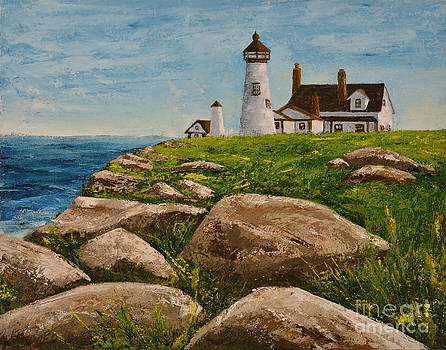 The Lighthouse by Jack Hedges