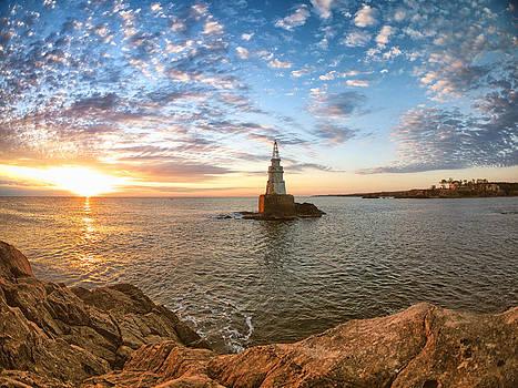 The lighthouse by Mariana Atanasova