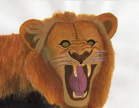 The Lion's Roar by Bav Patel