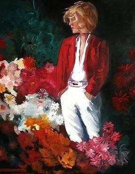 The Little Red Jacket by Caroline  Stuhr