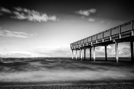 The Lonely Pier - Redux by Anthony Morganti