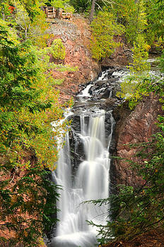 The Lookout Watefall by Sarah Rodefeld