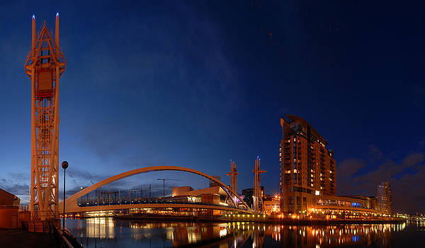 The Lowry Bridge by Andrew James