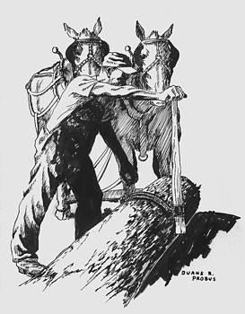 The Lumberjack by Duane R Probus
