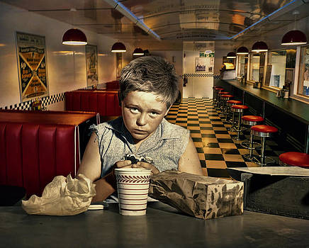 The Lunch Counter .... by Bob Kramer
