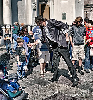 Kathleen K Parker - The Magician in Jackson Square New Orleans