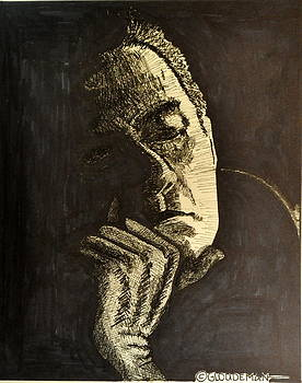 The Man In Black by Denis Gloudeman