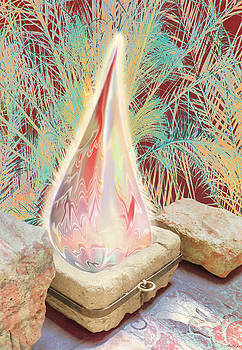 The manger is empty but the light still shines by Jennifer Kathleen Phillips